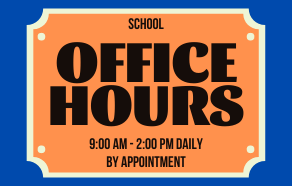 Fillmore School Office Hours