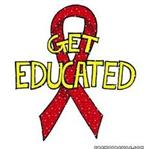 red get educated on AIDS ribbon