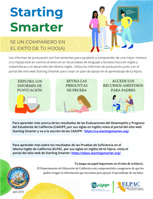 ELPAC Starting Smarter - Espanol - Spanish