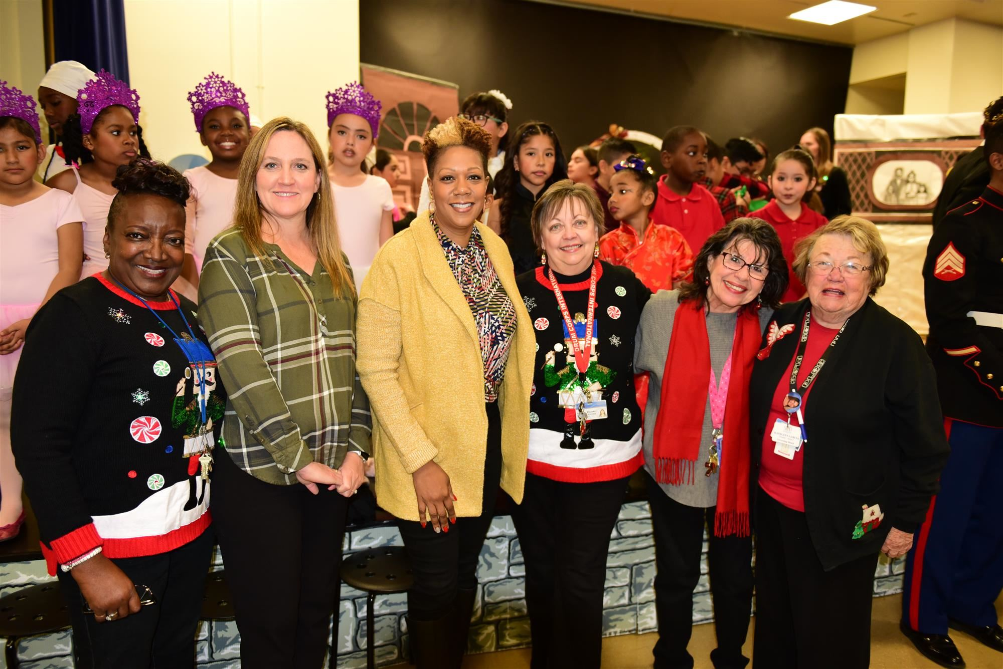 Board Vice President visits King Elementary during their Nutcracker performance