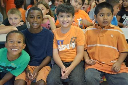 Stockton Unified Wears Orange for Unity Day