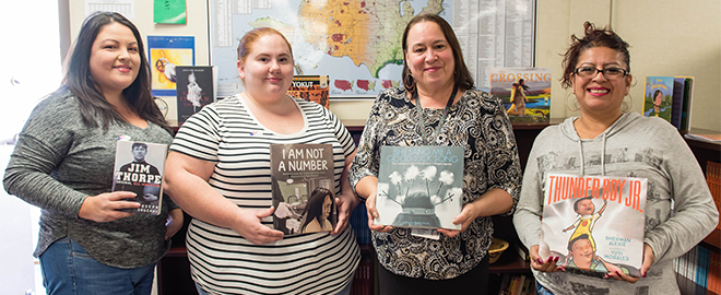 Native American Indian Center (NAIC) Expands Library
