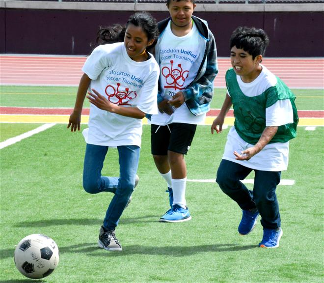 SUSD Holds First Soccer United Games