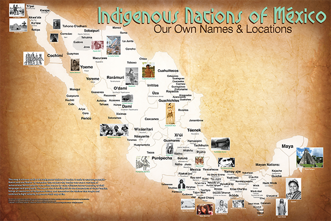 Clickable PDF map o of the Tribal Nations of Mexico