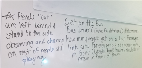 Get on the Bus Board Notes