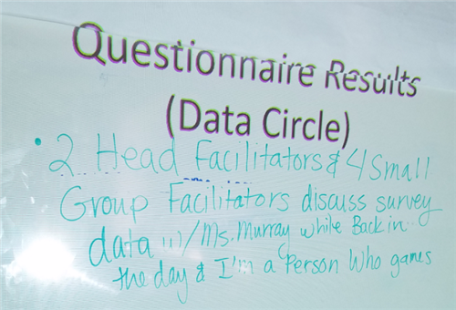 Questionnaire Data Circle Notes