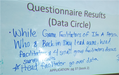 More Questionnaire Results Notes