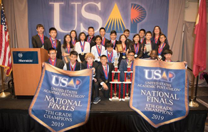 RIO 7TH AND 8TH GRADERS WIN GOLD IN 2019 NATIONAL ACADEMIC PENTATHLON