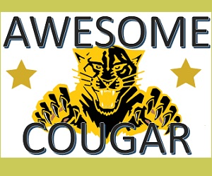 CHECK OUT OUR AWESOME STUDENT COUGAR OF THE WEEK!