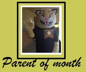 Nominate someone for Parent of the month!