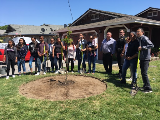 Community Tree Planting Event-May 23, 2018
