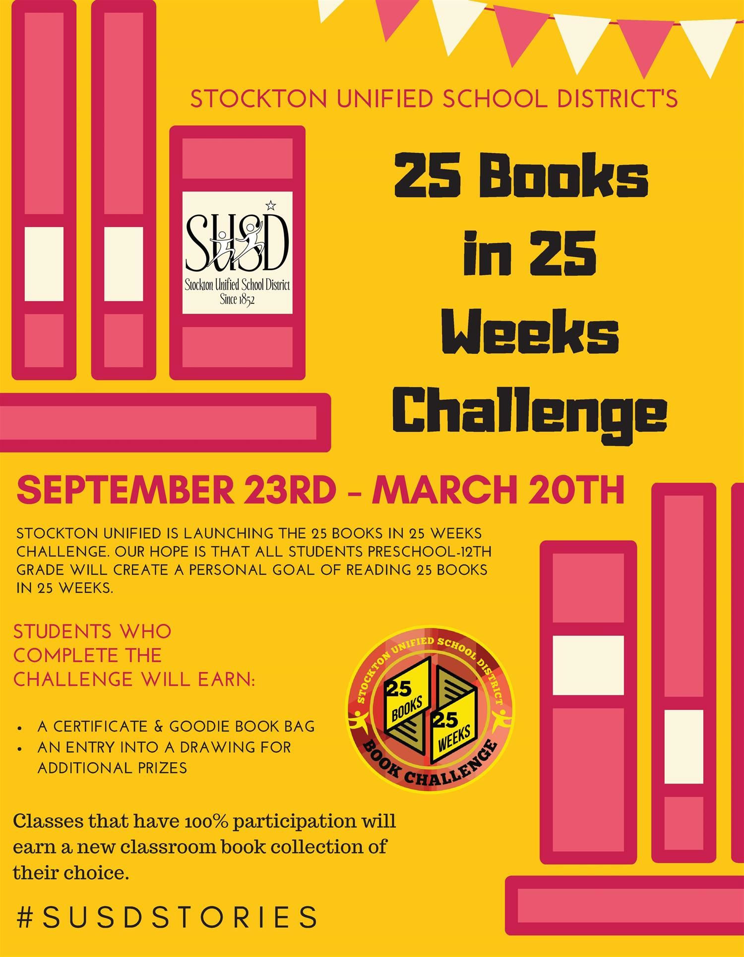 25 Books in 25 weeks Challenge