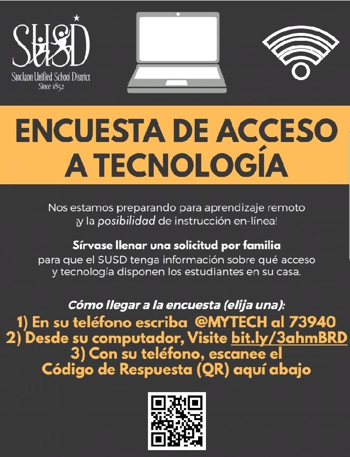 Tech Access Survey Spanish