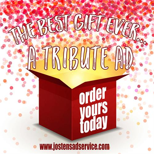 Order your Tribute Ad!