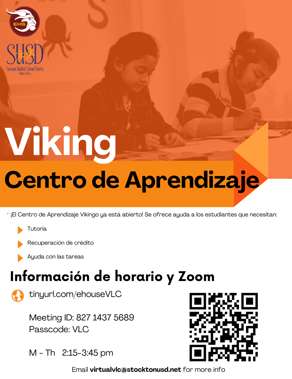 Click here to go to the Viking Learning Center!