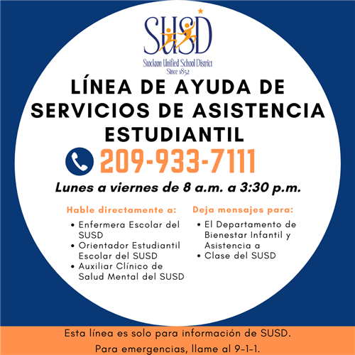 Support Services Spanish