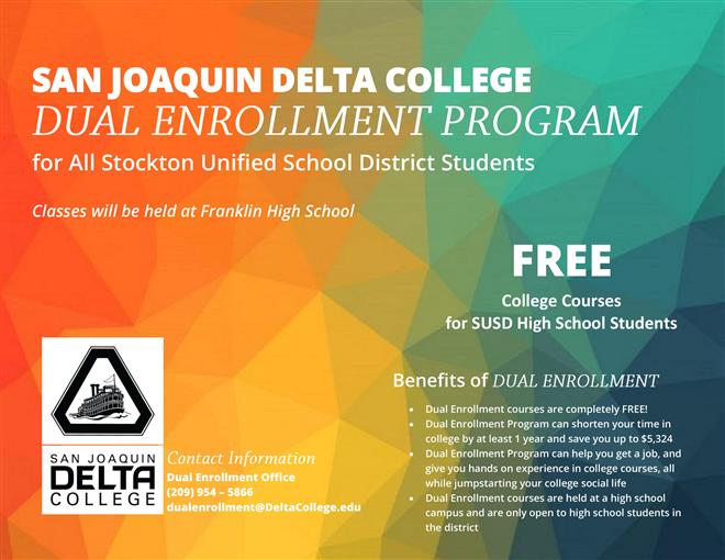 SUMMER DUAL ENROLLMENT - REGISTER TODAY!