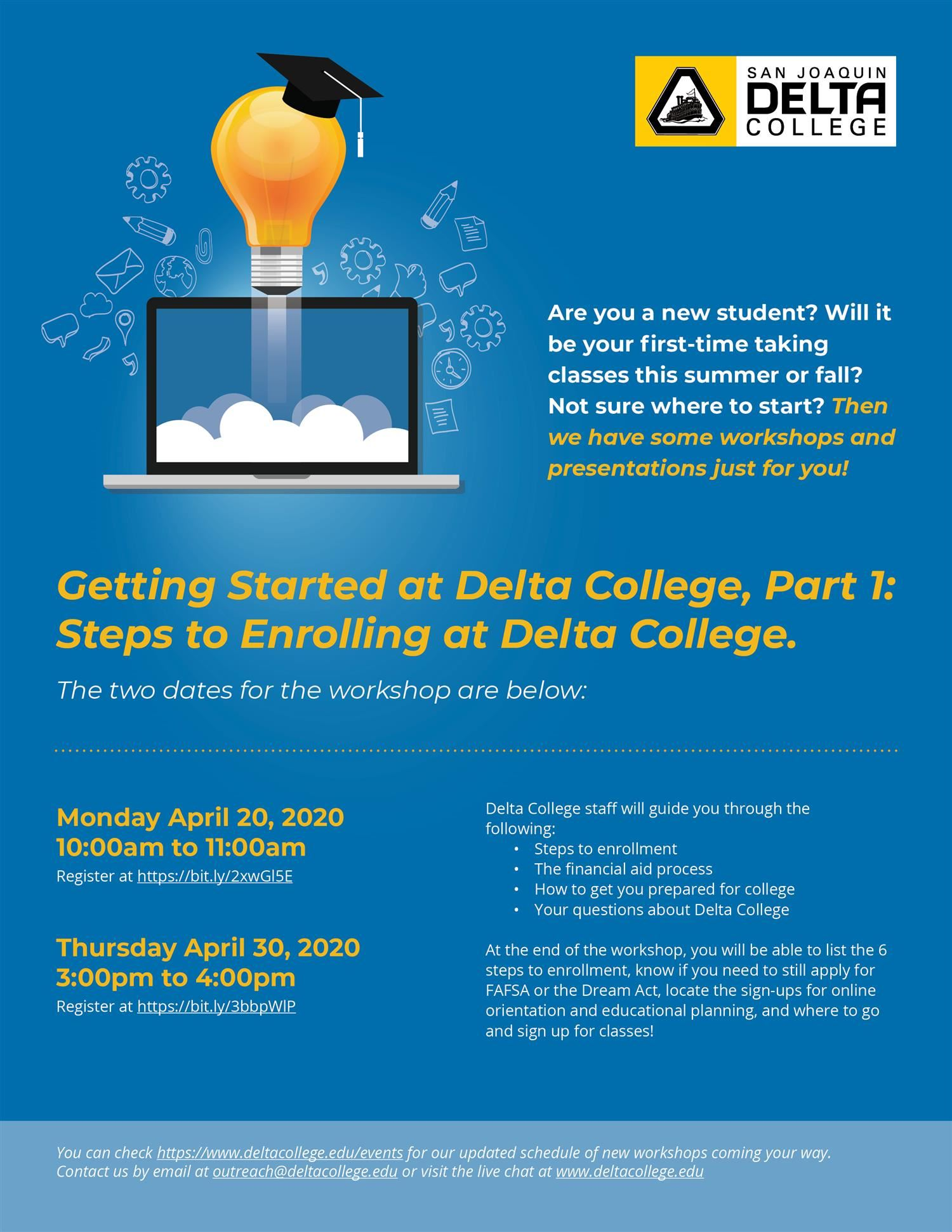 San Joaquin Delta College is #StillHereForYou Follow-Up