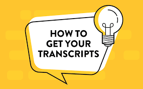 How to request your transcripts