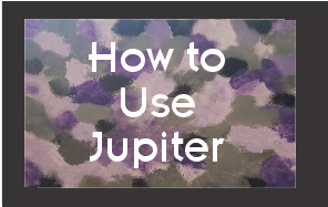 How to use Jupiter