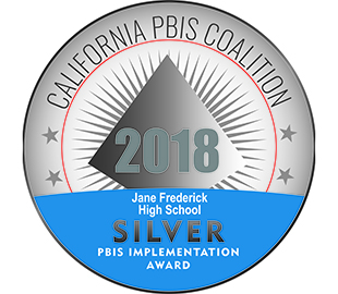 JFHS Recognized by the California PBIS Coalition