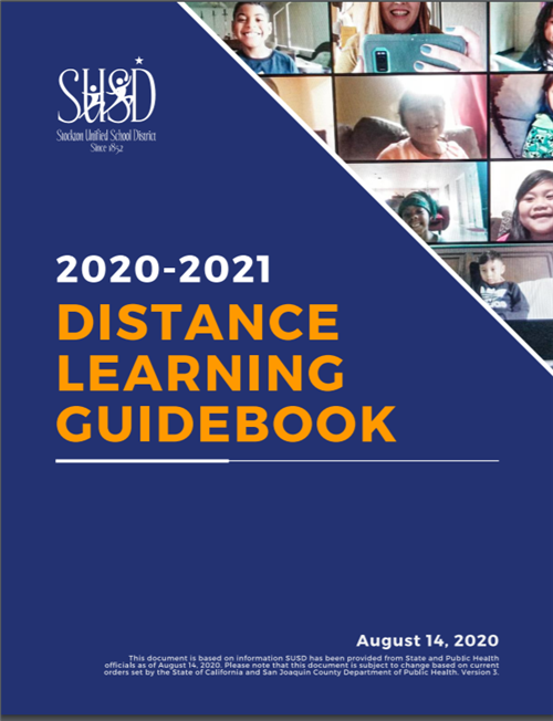 Click here to view the Distance Learning Guidebook