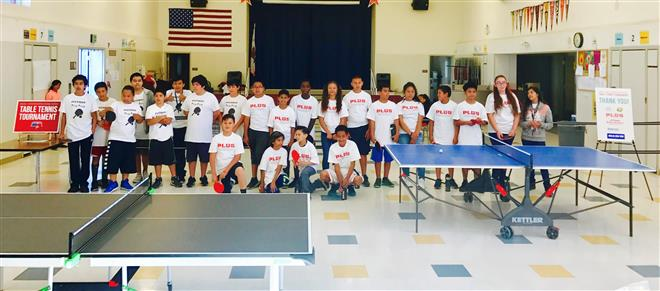 SUSD Ping Pong Tournament
