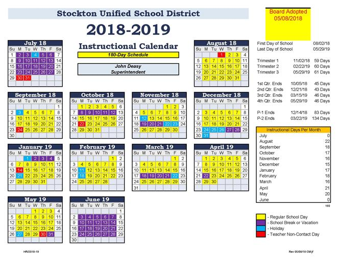 General Information Bell And Calendar Schedules