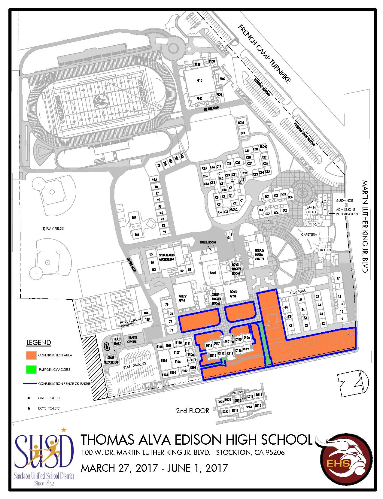 Taft College Campus Map.General Information School Map