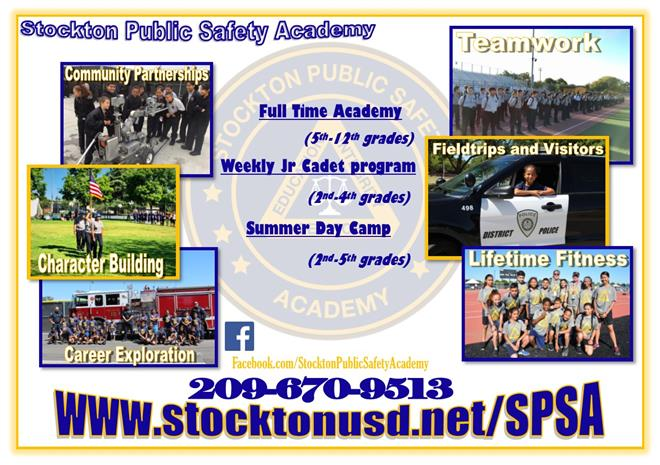 Stockton Public Safety Academy About Us