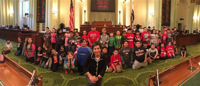 August Students Visit the Capital!